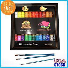 Crafts 4 ALL Watercolor Paint Set por 24 acuarelas de arte de calidad superior .