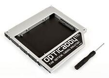 Opticaddy 2. SATA-3 HDD/SSD Caddy per Lenovo Ideapad 100-15IBD 100-15IBY