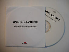 AVRIL LAVIGNE : GENERIC INTERVIEW AUDIO ♦ CD SINGLE PORT GRATUIT ♦