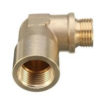 M18X1.5 90° Brass O2 Oxygen Sensor Angled Extender Spacer Bung Extension