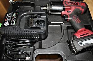 "Matco MCL2012BIW 1/2""-Drive 20V Cordless Impact Wrench Kit"