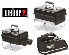Weber Go-Anywhere Gas Barbeque-Charcoal Barbecue - Carry Bag- Free UK Delivery