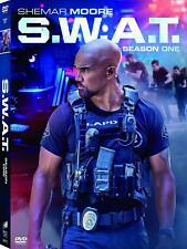 S.W.A.T. 1 (2017-2018) Shemar Moore SWAT Action-Drama TV Season Series - Rg1 DVD