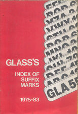 Glass's Index of Suffix Marks 1975-1983