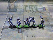 Warhammer 40k Metal Dark Eldar Wyches Wych Succubus Squad Lot Painted (OR713)