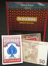 The Art of winning-di Marcel & Henry Evans, con Bicycle-Carte e DVD