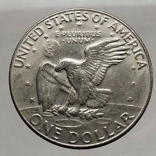 1977  President Eisenhower Apollo 11 Moon Landing Dollar USA Coin Denver  i46214