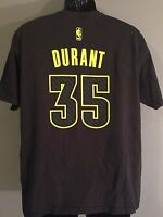 Kevin Durant #35 Oklahoma City Thunder NBA Basketball Adidas Mens Large T-Shirt