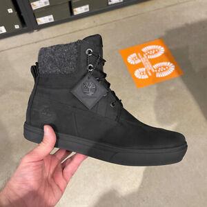 Timberland Men's Adventure 2.0 EK+ Black Nubuck Sneaker Boots A2EGJ