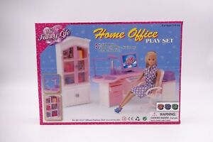 """My Fancy Life (Gloria) Home Office Play Set (24018) for 11.5"""" dolls"""