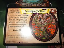 HARRY POTTER TCG CARD CHAMBER OF SECRETS WHOMPING WILLOW 54/140 RARE MINT EN