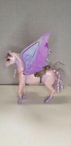 2005 Mattel Barbie Magic of Pegasus Brietta Purple Pink Horse One Wing Missing