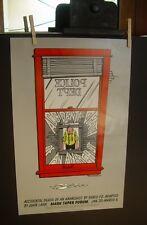 PLAY POSTER Accidental Death of Anarchist Dario Fo John Lahr 1983 Paul Conrad