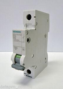 Siemens - Circuit Breaker 230/400V, 10kA, 1 Pole, C, 50A (Box of 12)