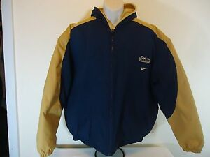 """NFL ST. LOUIS RAMS"""" NIKE JACKET DOUBLE HOODED SIZE:XL NYLON """"FAST SHIPPING"""""""