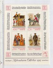 Dinamarca Expopsición Filatelica Mundial año 1987 (DY-46)
