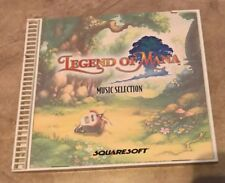 Legend of Mana Squaresoft Music Soundtrack Selection CD Complete Playstation PS1