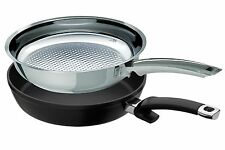 Fissler 2 Pfannen crispy steelux premium + protect alux premium 24 cm Cookstar