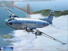ART PRINT: C-124 Globemaster over the Golden Gate - Print by Shepherd