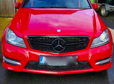 NEW Mercedes-Benz W204 C-Class Facelift C63 Style Front Grille Panel Gloss 2011-