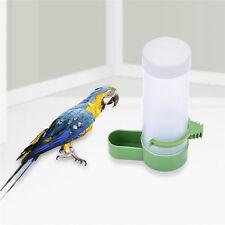 Automatic Pet Bird Parrot Feeder Water Drinking Food Dispenser Bowl Fountain