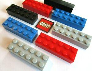 LEGO 2x6 BRICKS (Packs of 4 Bricks) Choose your Colour  - Design 2456