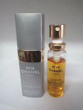 NO. 19 BY CHANEL PURE PARFUM REFILLABLE SPRAY 15 ML RARE VINTAGE