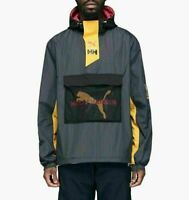 Puma x Helly Hansen Windbreaker Jacket Limited Edition New Black Men 597143-01