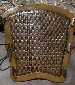 Tooled Basket weave(type 1) leather archery arm guard,bracer,armguard,larp,pagan