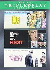 Suspense Thriller Triple Play Dvd The Big Bounce Heist Matchstick Men , New