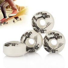 4pcs UGIN New Version The Wolf Series Skateboard Wheels 52x30mm White