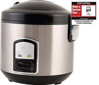 PerfectCook elektrischer Reiskocher Dampfgarer 3in1 Funktion ASIA Reis Kocher