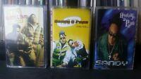 Sandy & Papo 3 Cassette Lot RARE OOP Latin House Merengue Hip Hop