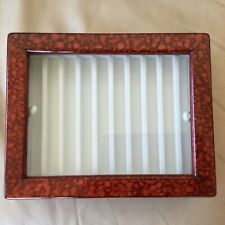 More details for 20 pen storage fountain case office wooden pen display collection box uk new