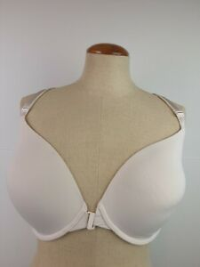 Ladies Victoria's Secret RN 54867 Front Hook Mesh Back Underwire Bra Size 34 DDD