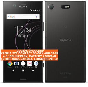 SONY XPERIA XZ1 COMPACT SO-02K 4gb 32gb DOCOMO unlocked japan version smartphone