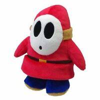"Little Buddy Toys Nintendo Super Mario Shy Guy 6"" Plush USA Seller Authentic"