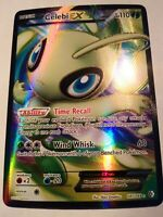 POKEMON Card Celebi EX Black&White Boundaries Crossed Holo Rare Full Art 141/149