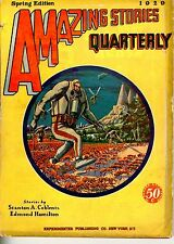 Amazing Stories Qrtly  Vol 2   #2   Pulp   Spring 1929   VG   Coblentz, Hamilton