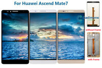 For Huawei Ascend Mate7 MT7-TL10 LCD Display Touch Screen Digitizer Assembly AAA