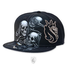 OGABEL OG Abel Clothing See No 014 Tattoo Skull Art Flat Bill Cap Snapback Hat