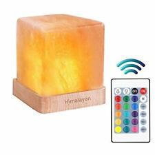 Natural Himalayan Cordless Salt Lamp Rock Crystal Rechargeable(Built-in