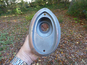 1952 1953 Hudson Wasp Tail HUTSI LH Driver TURN SIGNAL LIGHT Bezel