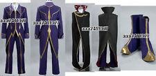 Code Geass Zero Lelouch Cosplay Costume
