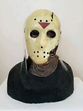 Jason Voorhees 2 Piece Latex Mask Friday the 13th part 7 Hockey Vorhees Horror