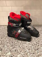 Salomon Kids Youth  Ski Boots~Performa T2~Size 21.0 US 2~UK 1 1/2 33 2/3 EU Blk