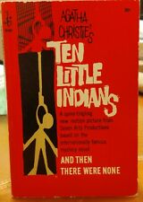 1966 Agatha Christie's Ten Little Indians: And Then There were none Paperback