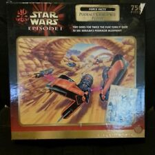 Hasbro 750 pc. Puzzle Star Wars Episode1 Podrace Challenge Two Sided Sealed