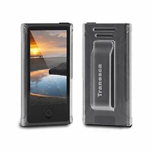 Tranesca rubber cover shell case w belt clip for iPod Nano 7 case ALL COLOR