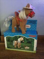 Vintage Sylvanian Families RARE Vintage Pony Set Tomy 1990 Boxed